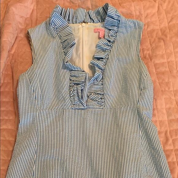 Lilly Pulitzer Dresses & Skirts - Lilly Pulitzer Seersucker dress